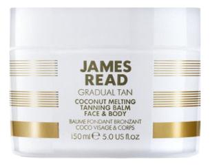 Фото - Кокосовый бальзам с эффектом загара для лица и тела Gradual Tan Coconut Melting Tanning Balm Face & Body 150мл масло для автозагара james read self tan coconut dry tan body 100 мл