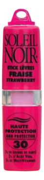 Бальзам для губ Stick Levres Fraise Strawberry SPF30 4г (клубника) fraise