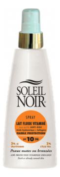Антивозрастное солнцезащитное молочко для тела Spray Lait Fluide Vitamine SPF10 150мл недорого