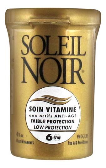 Антивозрастной крем для лица Protections Solaires Soin Vitamine Faible Protection SPF6 20мл