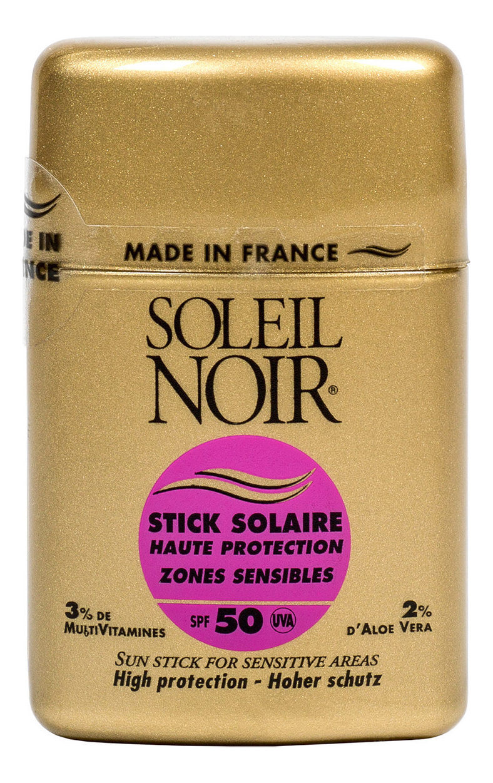Солнцезащитный стик для губ и кожи лица Protections Solaires Stick Solaire Haute Zones Sensibles SPF50 10г