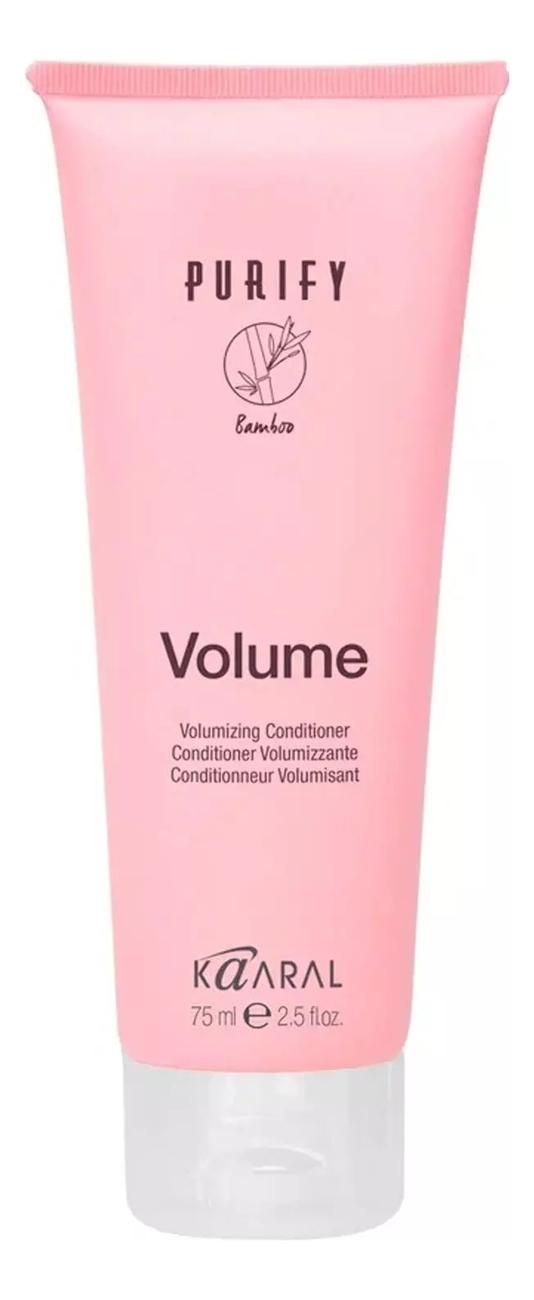 Купить Кондиционер-объем для тонких волос Purify Volume Conditioner: Кондиционер 75мл, KAARAL
