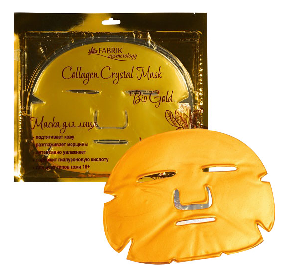 Маска для лица Collagen Crystal Mask Bio Gold 1шт