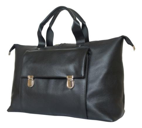 Дорожная сумка Alberola Black 4015-01 кожаная дорожная сумка carlo gattini normanno 4007 4007 01