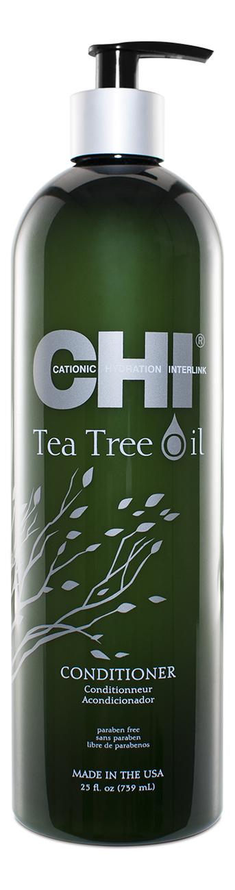 Фото - Кондиционер для волос с маслом чайного дерева Tea Tree Oil Conditioner: Кондиционер 739мл гель смазка sico tea tree oil с маслом чайного дерева 100 мл