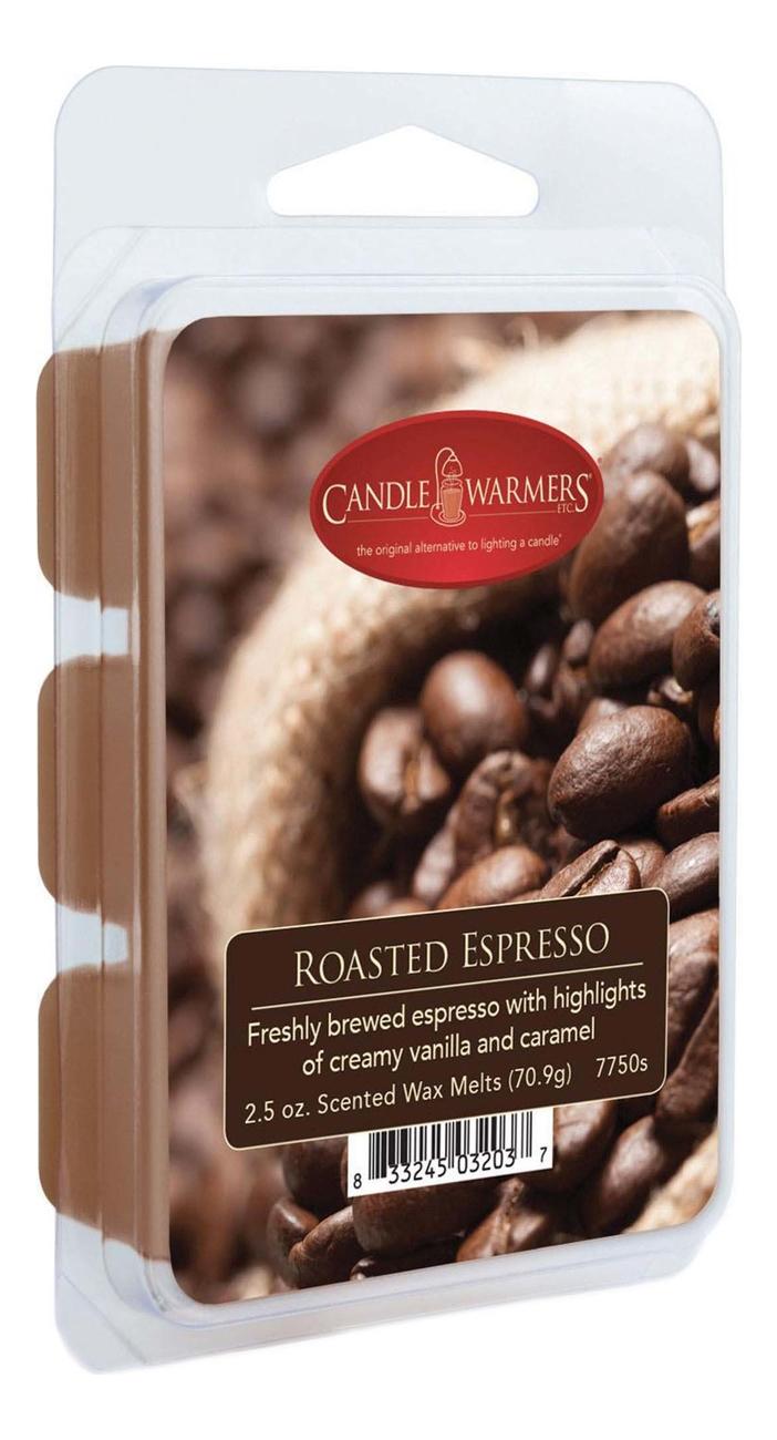 Купить Наполнитель для воскоплавов Roasted Espresso Wax Melts 70, 9г, Candle Warmers