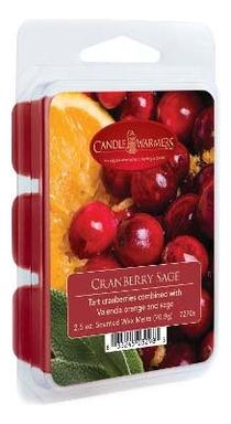 Наполнитель для воскоплавов Cranberry Sage Wax Melts 70,9г наполнитель для воскоплавов after the rain wax melts 70 9г