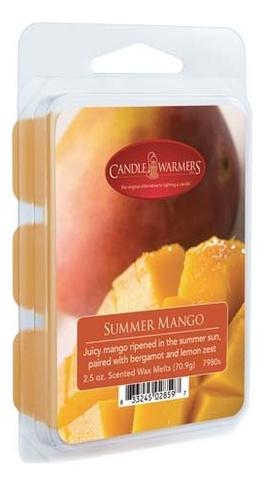 Купить Наполнитель для воскоплавов Summer Mango Wax Melts 70, 9г, Candle Warmers