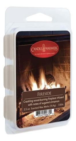 Купить Наполнитель для воскоплавов Fireside Wax Melts 70, 9г, Candle Warmers
