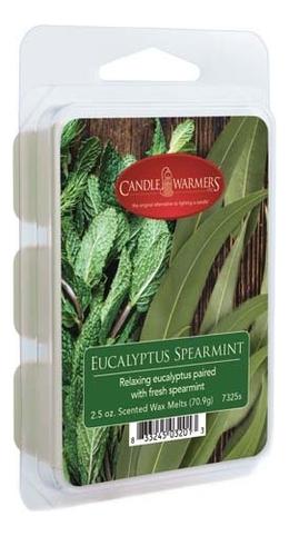 Купить Наполнитель для воскоплавов Eucalyptus Spearmint Wax Melts 70, 9г, Candle Warmers