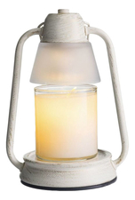Candle Warmers Электрический фонарь Beacon Lantern Brushed Champagne