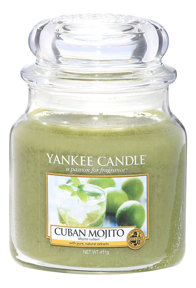 Ароматическая свеча Cuban Mojito: Свеча 411г