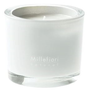 Ароматическая свеча Белая мята и тонка Natural White Mint & Tonka 180г рефилл белая мята и тонка 250 мл millefiori milano