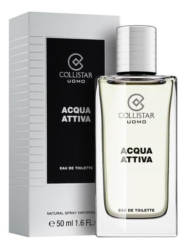 Collistar Acqua Attiva: туалетная вода 50мл collistar talasso scrub anti age купить