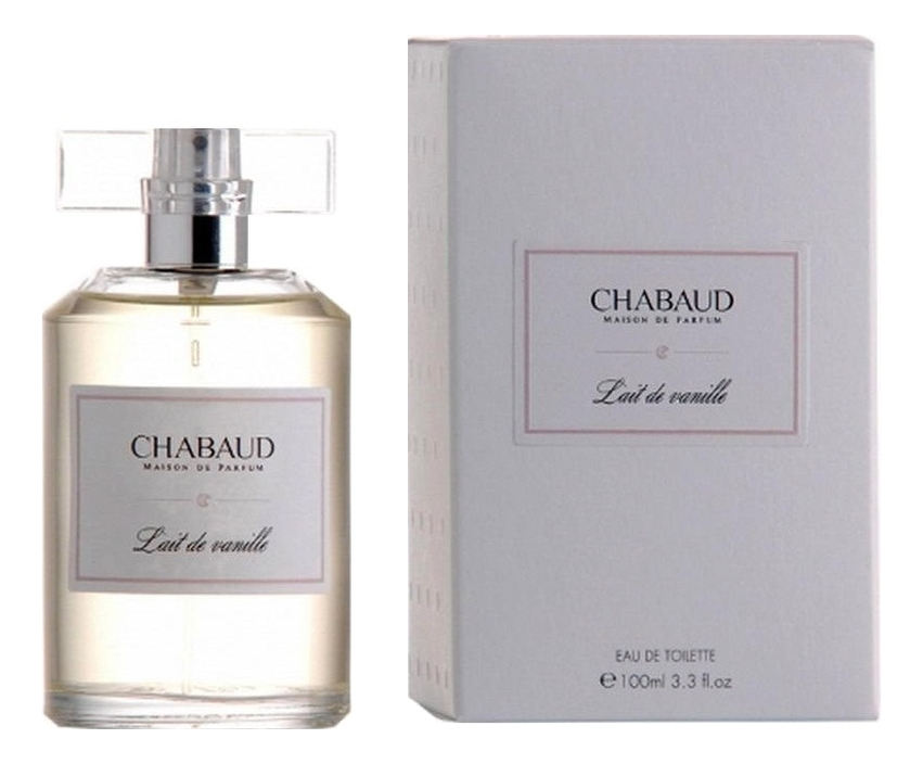 Chabaud Maison de Parfum Lait Vanille: туалетная вода 100мл