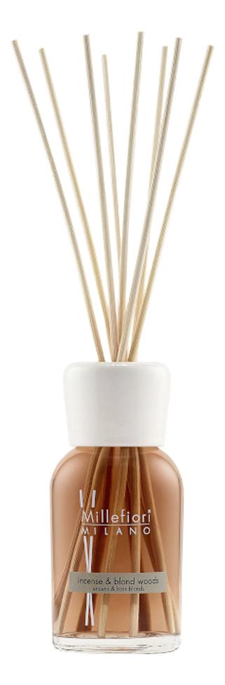 Купить Ароматический диффузор Благовония и белое дерево Natural Incense & Blond Woods: Диффузор 250мл, Ароматический диффузор Благовония и белое дерево Natural Incense & Blond Woods, Millefiori Milano