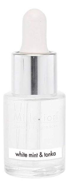 Концентрат для аромалампы Белая мята и тонка Natural White Mint & Tonka 15мл рефилл белая мята и тонка 250 мл millefiori milano