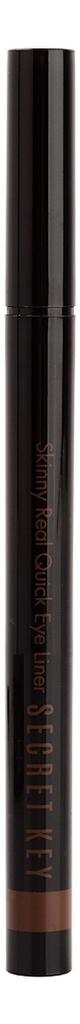 Подводка для глаз Skinny Real Quick Eye Liner 0,55мл: Renewal Brown