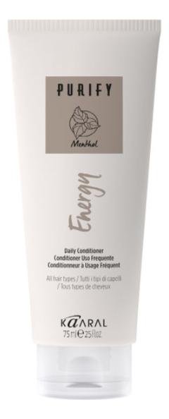 Купить Интенсивный энергетический кондиционер для волос с ментолом Purify Energy Conditioner: Кондиционер 75мл, KAARAL