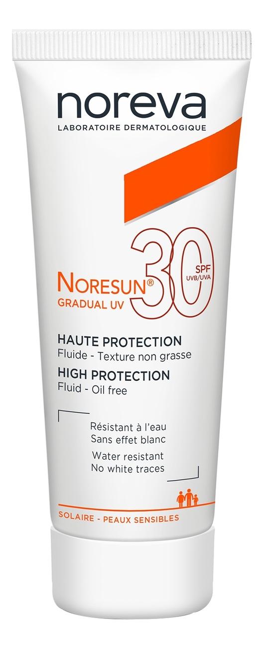 Солнцезащитный флюид для лица Noresun Gradual UV High Protection Fluid SPF30 40мл