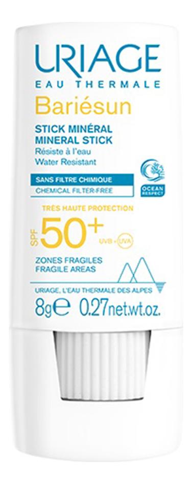 Солнцезащитный минеральный стик для лица и тела Bariesun Stick Mineral SPF50+ 8г недорого