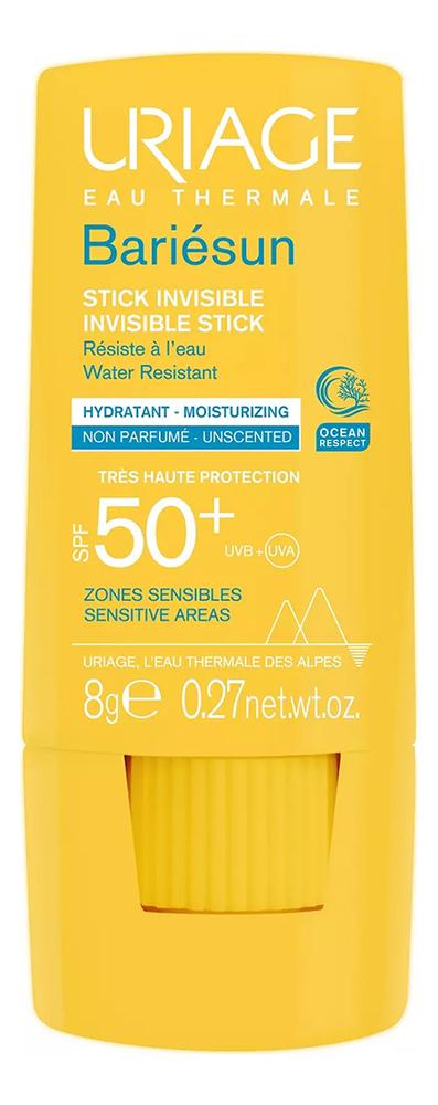 Солнцезащитный стик для лица и тела Bariesun Stick Invisible SPF50+ 8г недорого