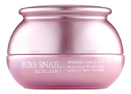 Крем для лица с муцином улитки Pure Snail Wrinkle Care Cream 50г