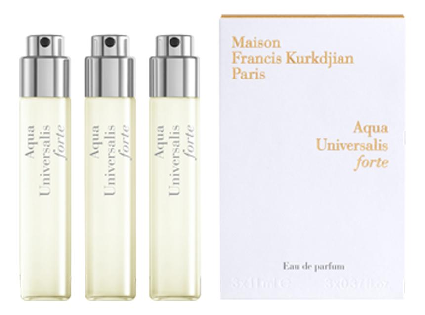 Aqua Universalis Forte: парфюмерная вода 3*11мл недорого