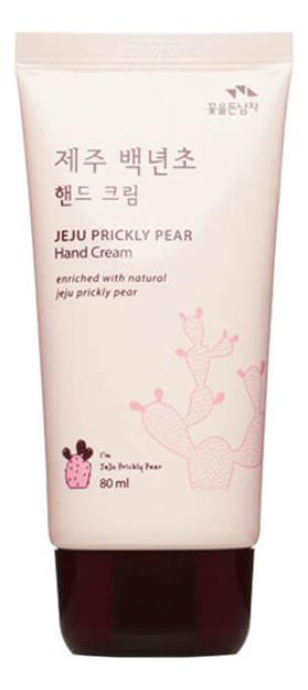 Купить Крем для рук Jeju Prickly Pear Hand Cream 80мл, Flor De Man