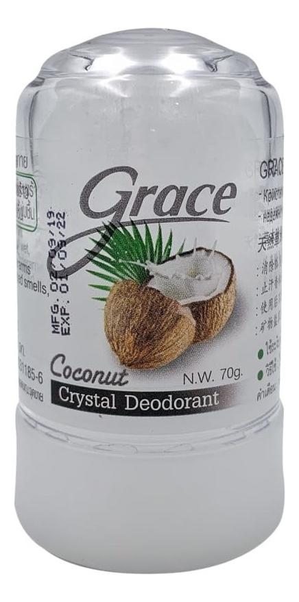 Купить Кристаллический дезодорант Crystal Deodorant Coconut 70г (кокос), Grace