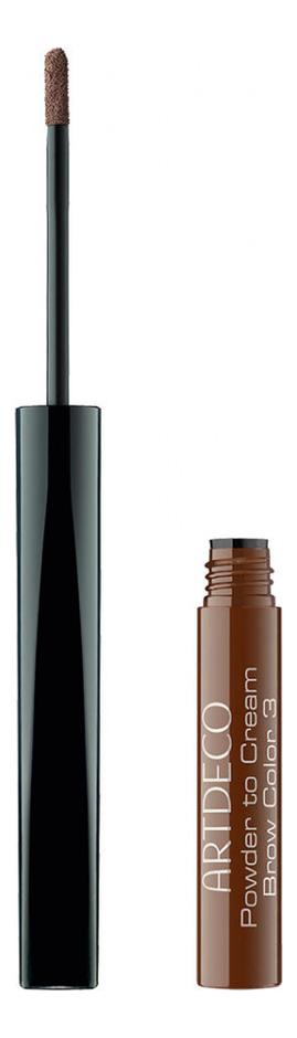 Крем-пудра для бровей Powder to Cream Brow Color 1,2г: 03 Brunette lancome brow densify powder to cream