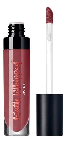 Матовая жидкая помада Beauty Matte whipped lipstick 5г: Коричневый