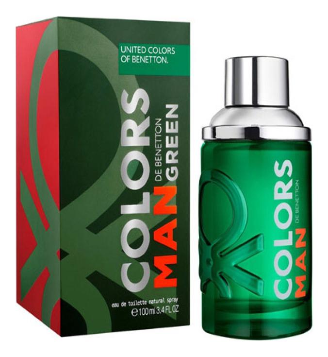 Colors Man Green: туалетная вода 100мл 001 man туалетная вода 100мл