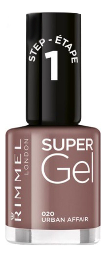 Гель-лак для ногтей Super Gel Nail Polish 12мл: 020 Urban Affair гель лак для ногтей super gel nail polish 12мл 032 coctail passion