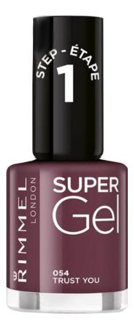 Гель-лак для ногтей Super Gel Nail Polish 12мл: 054 Trust You