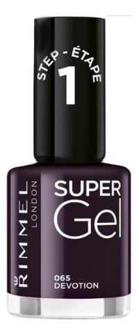 Гель-лак для ногтей Super Gel Nail Polish 12мл: 065 Devotion, Rimmel  - Купить
