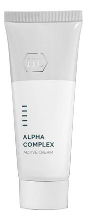 Активный крем для лица Alpha Complex Active Cream 70мл holy land эксфолиатор быстродействующий alpha complex