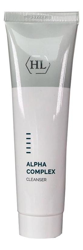 Деликатное очищающее средство для лица Alpha Complex Cleanser: Средство 100мл youthful gel cleanser holy land