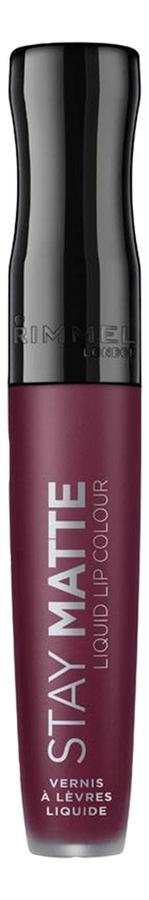 Купить Жидкая матовая помада для губ Stay Matte Liquid Lip Colour 5, 5мл: No 860, Rimmel