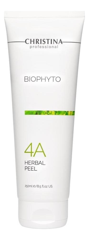 Растительный пилинг для лица Bio Phyto Herbal Peeling 4A 250мл bio henna скраб пилинг для бровей soft peeling