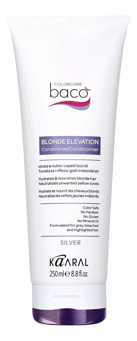 Купить Увлажняющий и питательный кондиционер для волос Baco Blonde Elevation Conditioner: Кондиционер 250мл, KAARAL