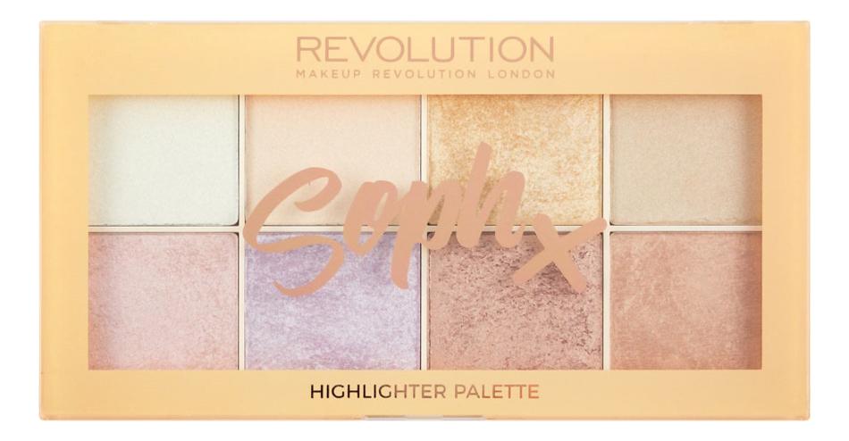 Хайлайтер для лица Highlighter Palette Soph 16г хайлайтер для лица 4k highlighter palette 16г gold