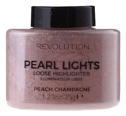 Рассыпчатый хайлайтер для лица Pearl Lights Loose Highlighter Peach Champagne 35г