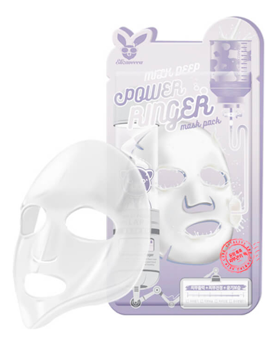 Купить Тканевая маска для лица на основе молока Milk Deep Power Ringer Mask Pack: Маска 10*23мл, Elizavecca