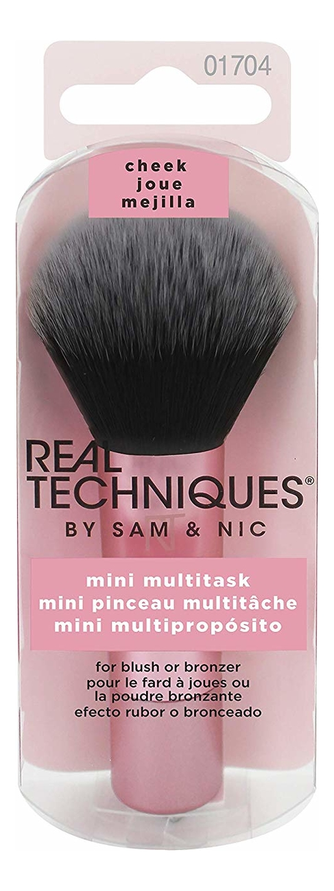 Купить Кисть для контуринга Mini Multitask Brush, Real Techniques
