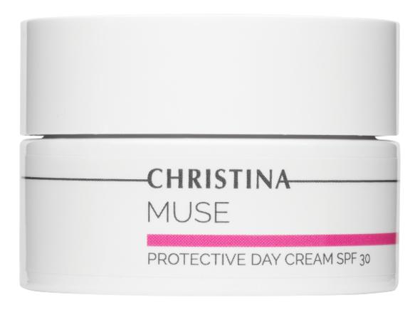 Защитный дневной крем для лица Muse Protective Day Cream SPF30 50мл christina muse shielding day cream spf 30 защитный дневной крем шаг 8 150 мл