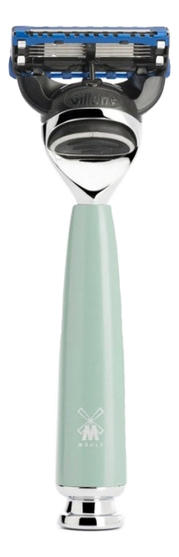 Купить Бритва Смола мятного цвета Intro Rytmo Gillette Fusion, Muehle