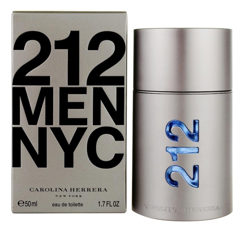 Carolina Herrera 212 Men NYC: туалетная вода 50мл