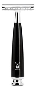 Бритва Т-образная Черная смола Intro Rytmo бритва т образная смола цвет карамели modern stylo