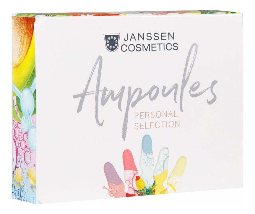 Сыворотка для контура глаз Ampoules Eye Flash Fluid: Сыворотка 3*1,5мл janssen cosmetics skin excel glass ampoules